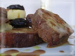 filetto maiale con prugne, intolleranti