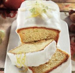 plum cake glassato al limone