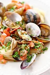 spaghetto rosso alle vongole, ricette intolleranti alimentari