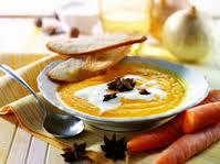 crema di carote, ricette intolleranti alimentari