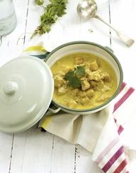 pollo al curry, ricette intolleranti alimentari