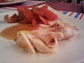 pollo e peperoni, ricette intolleranze alimentari