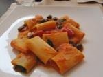 paccheri pomodorini olive