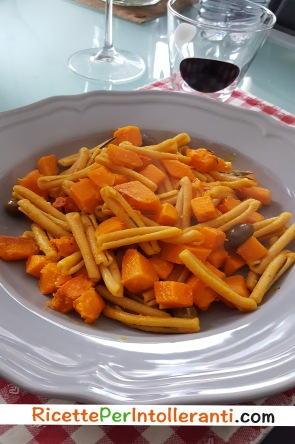 cavatelli zucca olive