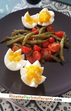 fagiolini uova